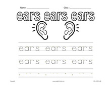 ESL Kids Worksheets Body Parts Worksheets