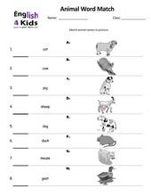 Esl Kids Worksheets Farm Animal Worksheets