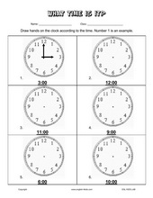 esl kids worksheets telling time worksheets. Black Bedroom Furniture Sets. Home Design Ideas